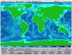 OAD WADER Sonar range prediction software from 1998