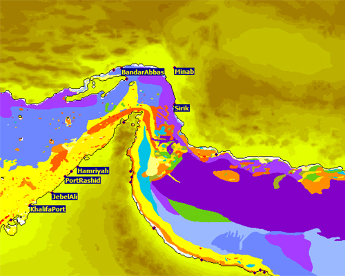 OAD ocean acoustic developments wader V8 version 8 sonar range prediction sediment and ports